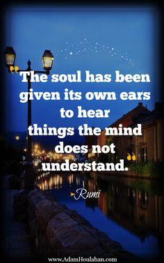 Rumi soul quote
